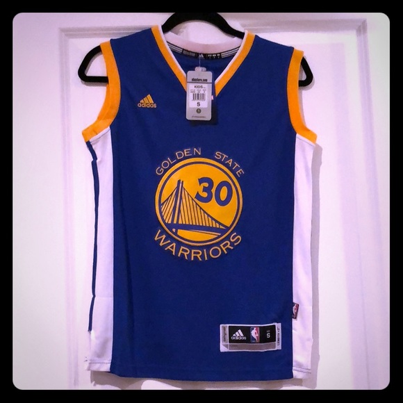 huge discount e3216 462fb Boys Golden State Warrior, Stephen Curry Jersey NWT